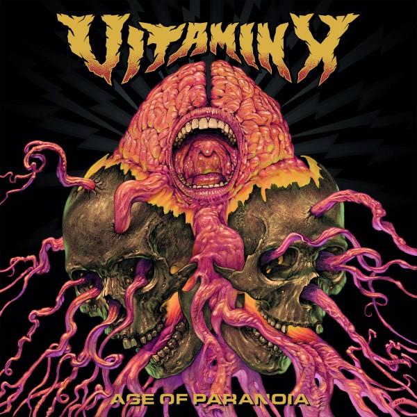 Vitamin X – age of paranoia - LP