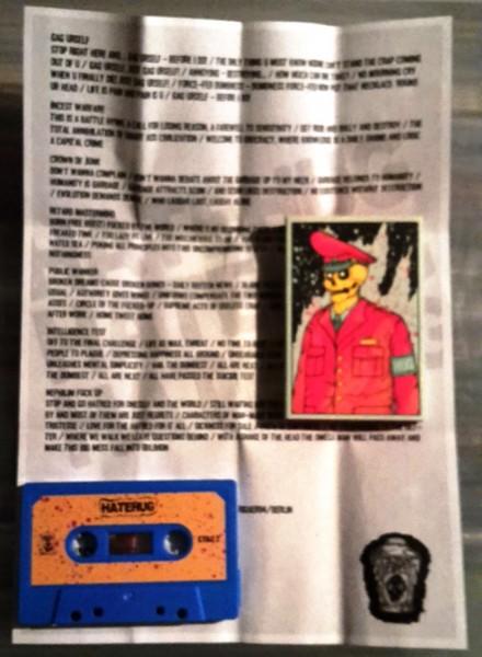 Hatehug - demo tape