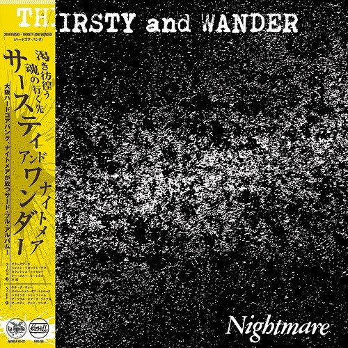 Nightmare - thirsty and wander - LP