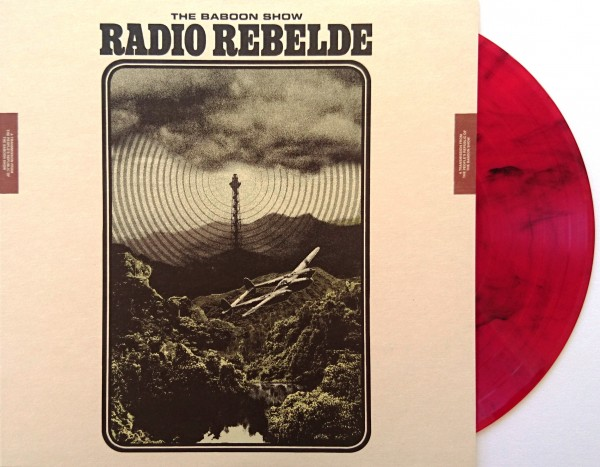 The Baboon Show – Radio Rebelde - red LP
