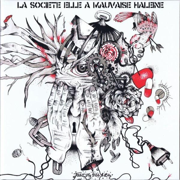 """La Société Elle A Mauvaise Haleine – Tout Va Très Bien... - 10""""+CD"""