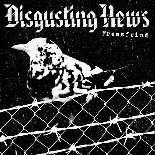 Disgusting News – fressfeind - s/S LP