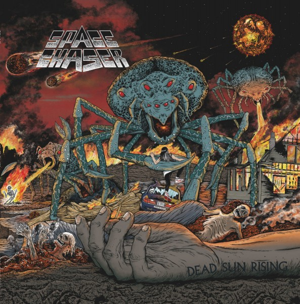 Space Chaser - dead sun rising - LP