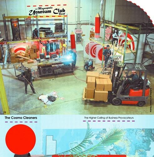Uranium Club — the cosmo cleaners - LP