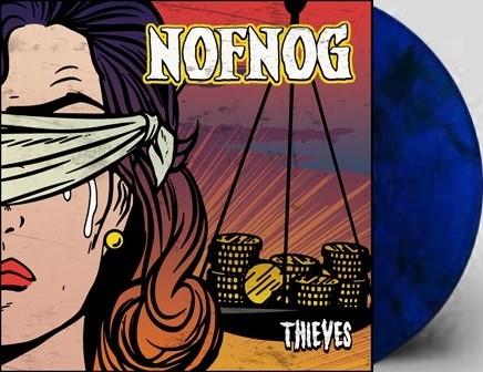 NOFNOG - thieves - blue LP