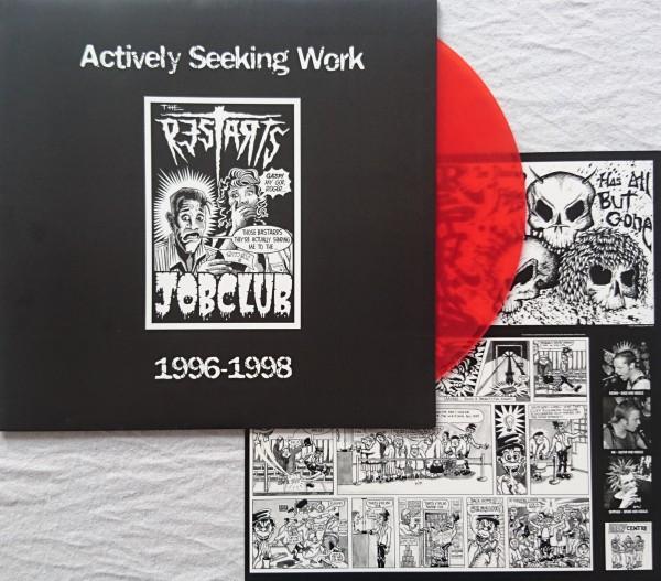 The Restarts – actively seeking work 1996-1998 - LP