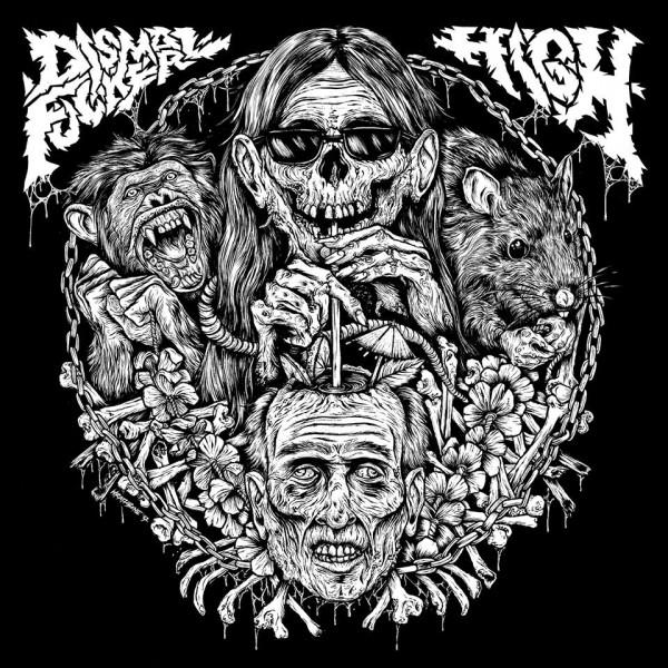"High x Dismalfucker - Split 12"" + High 7"" vinyl combo"