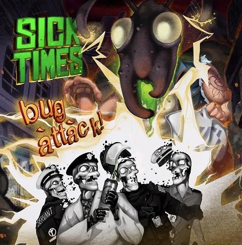 Sick Times vs. Bug Attack! - 180g color LP