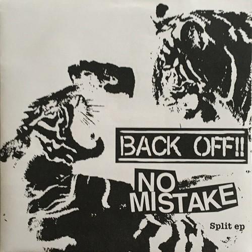 No Mistake vs. Back Off!! - grey split EP