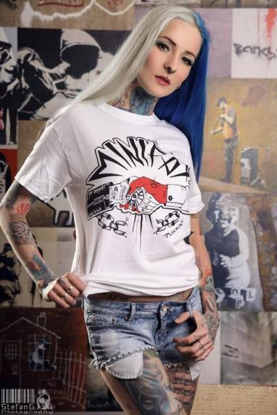 Minipax - 1984 - girlie shirt - white